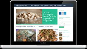 Diseño página web personal