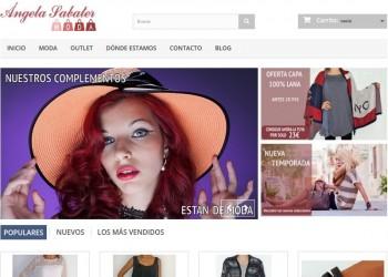 Tienda online de moda Ángela Sabater