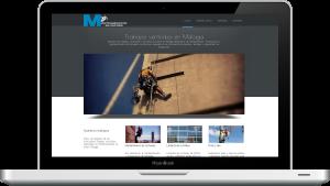 Diseño de una página web de negocio