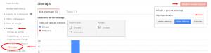 Añadir sitemap en Webmaster