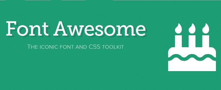 Iconos gratis de Font Awesome