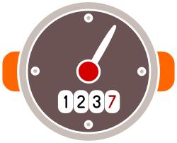 Velocímetro para medir la velocidad de descarga de nuestra página